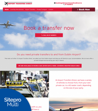 Airport Transfers Direct Customer site