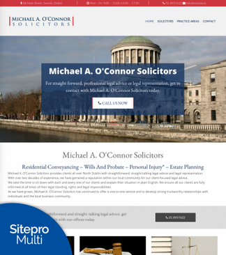 Michael O Connor Customer site